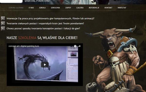 Budowa strony dla Potęgi Obrazu