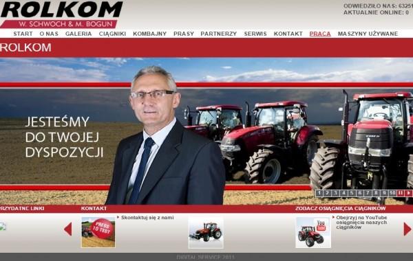 Budowa strony Rolkom.eu W.Schwoch & M.Bogun
