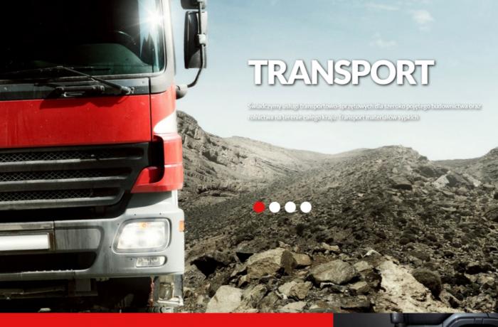 Budowa strony dla firmy Speed-Bud-Trans w Cedrach Wielkich