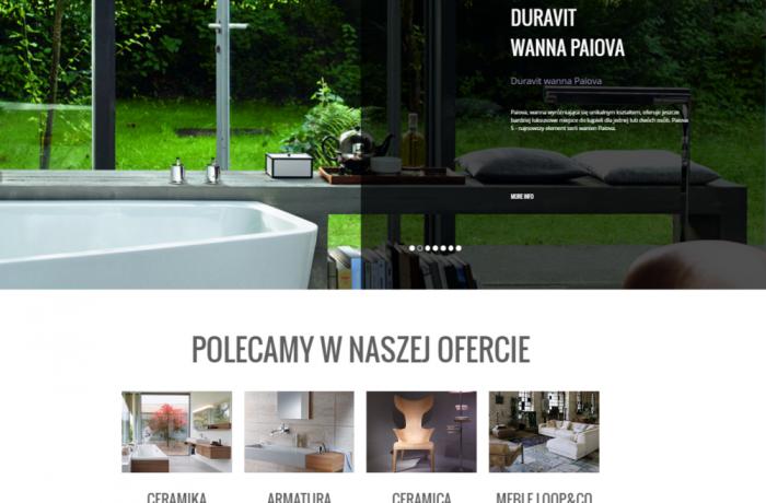 Budowy strony internetowej dla firmy SANART z Gdańska